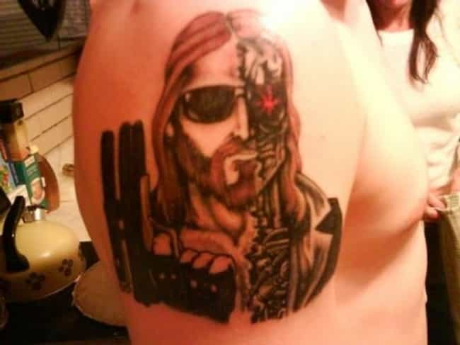 Lemme Guess? He'll Be Back is listed (or ranked) 4 on the list 35 Bible Tattoo FAILs That You Won't Believe!