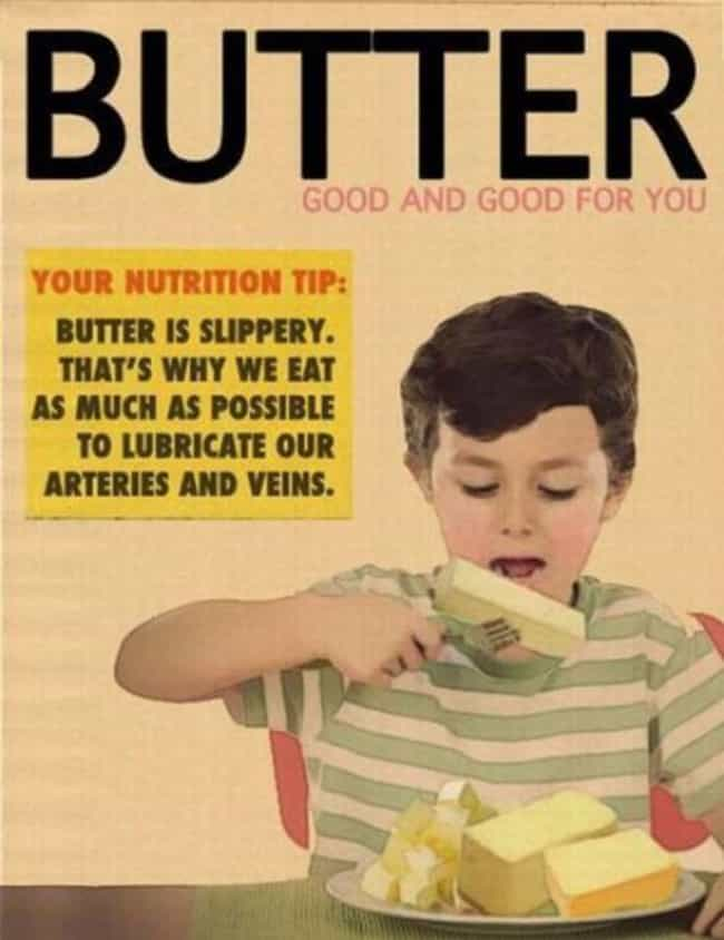 This Is an Ad We Can Get... is listed (or ranked) 1 on the list Vintage Health Ads That Actually Give Horrible Advice