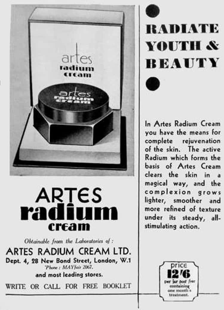 Wonderful Radium Cream