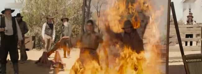 Ready, Aim, FIRED! is listed (or ranked) 2 on the list The Top Deaths in A Million Ways to Die in the West
