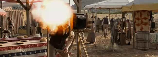 Camera Lightning Flash is listed (or ranked) 3 on the list The Top Deaths in A Million Ways to Die in the West