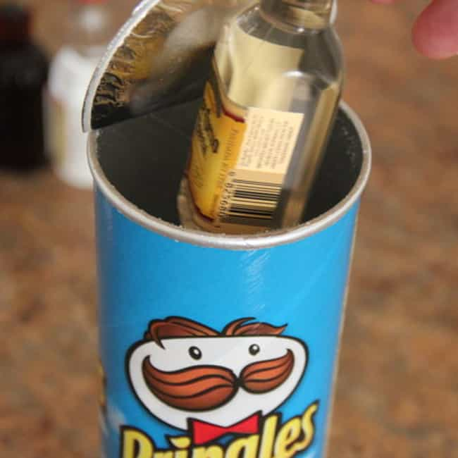 Use a Pringles Tube: Stack You... is listed (or ranked) 4 on the list 25+ Genius Ways to Sneak Alcohol Into an Event