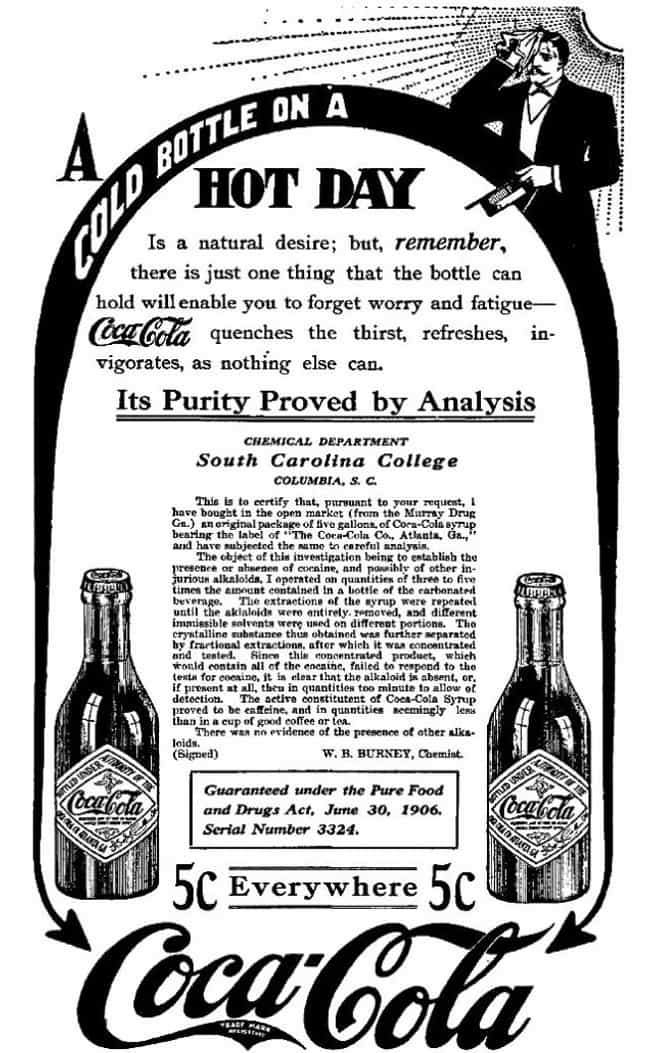 Is There Anything Coca C... is listed (or ranked) 4 on the list Vintage Ads That Promoted Now-Illegal Drugs