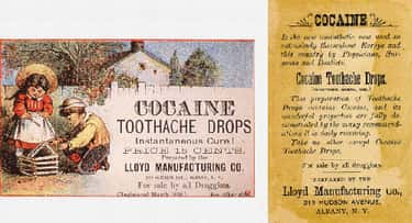 Kids Love Cocaine Toothache Dr is listed (or ranked) 1 on the list Vintage Ads That Promoted Now-Illegal Drugs