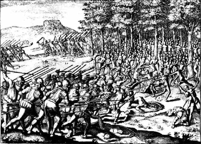 Arauco Wars (Approx. 290 Years... is listed (or ranked) 4 on the list The Longest Wars In History