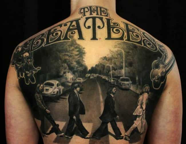 The Beatles, Forever Crossing ... is listed (or ranked) 1 on the list The Most Epic Boy Band Tattoos Ever