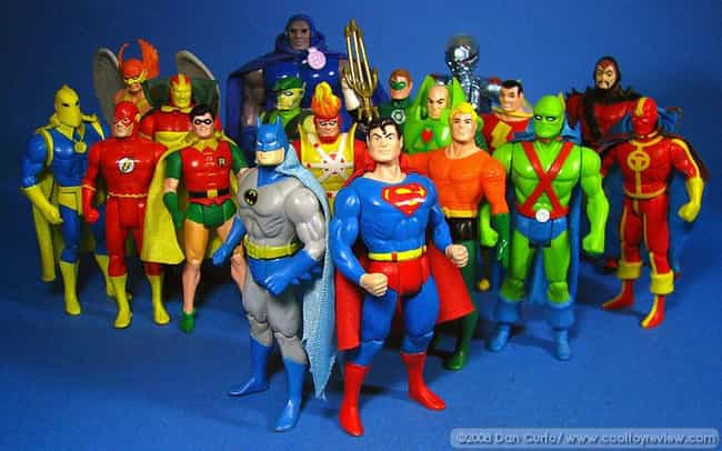 Super Powers is listed (or ranked) 4 on the list The Best Superhero Toy Lines