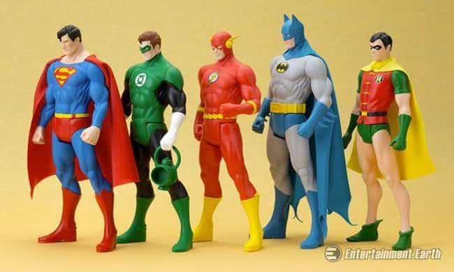 Super Powers is listed (or ranked) 3 on the list The Best Superhero Toy Lines