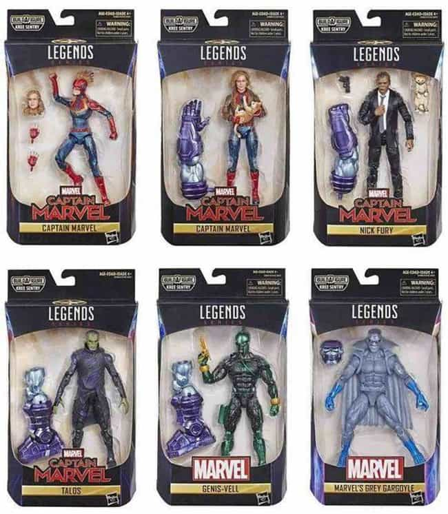 Marvel Legends is listed (or ranked) 1 on the list The Best Superhero Toy Lines