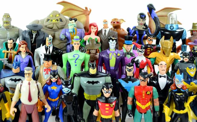 Batman: The Animated Series is listed (or ranked) 3 on the list The Best Superhero Toy Lines