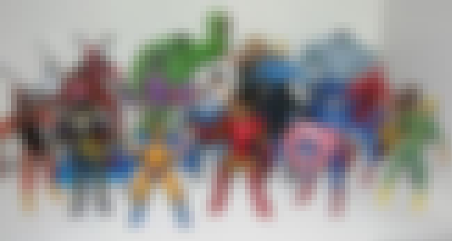 Marvel Universe is listed (or ranked) 3 on the list The Best Superhero Toy Lines