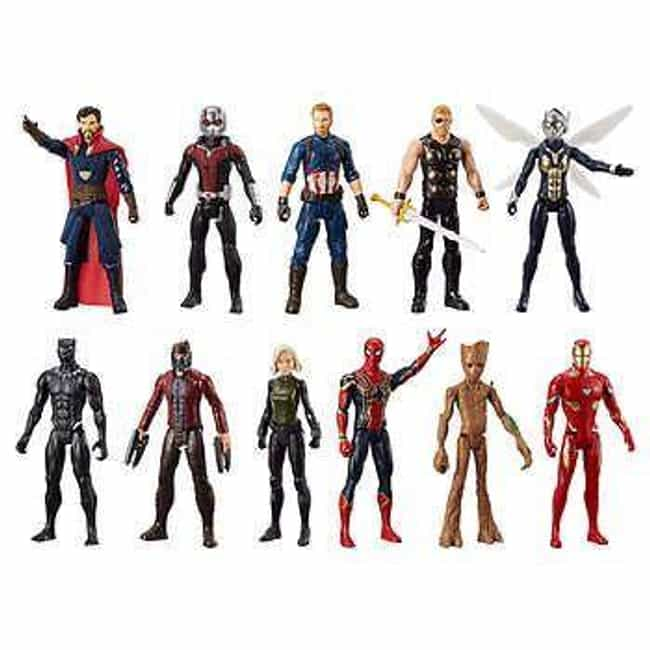 Marvel Universe is listed (or ranked) 4 on the list The Best Superhero Toy Lines