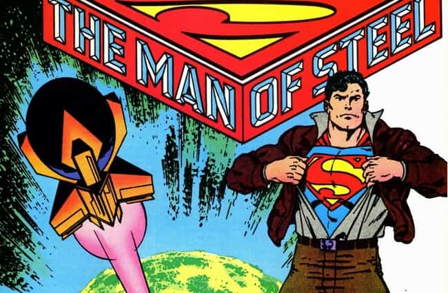 Man of Steel 1-6 is listed (or ranked) 3 on the list The Best Superman Storylines, Ranked