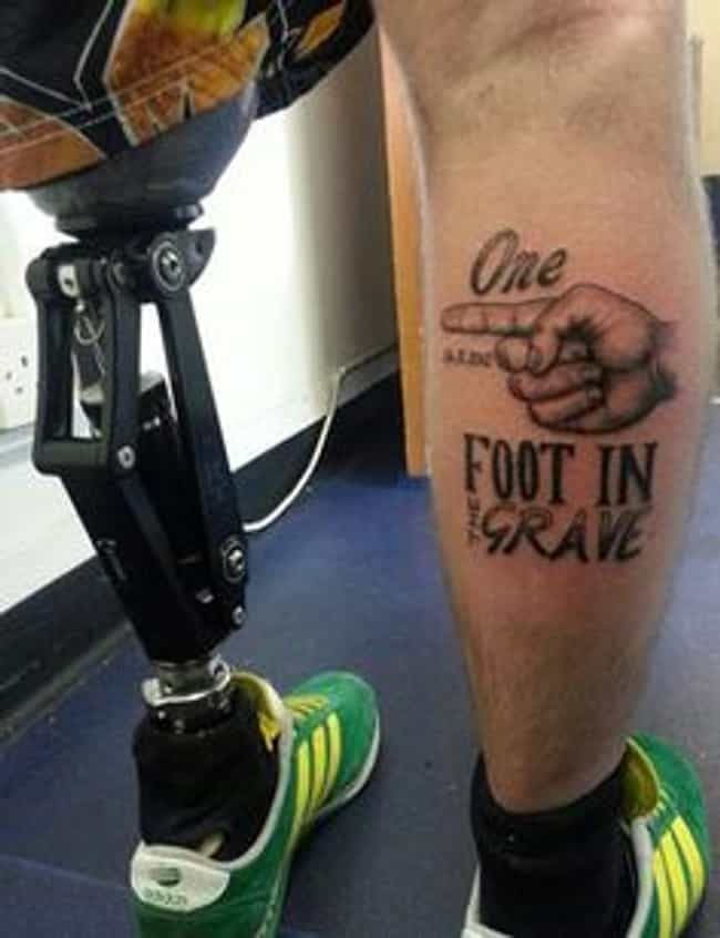 ... And the Other on a Banana ... is listed (or ranked) 4 on the list The Most Awesome Amputation Tattoos of All Time