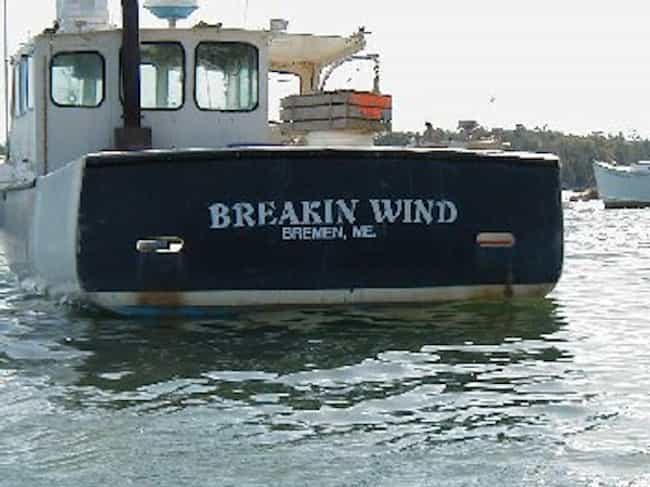Why You Never Let Grandp... is listed (or ranked) 2 on the list Funny Boat Names That'll Get a Hull of a Lot of Laughs