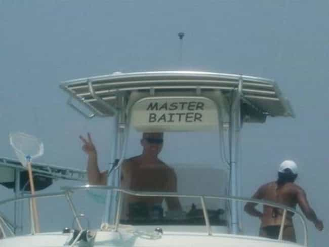 If You Got It, Flaunt It is listed (or ranked) 3 on the list Funny Boat Names That'll Get a Hull of a Lot of Laughs