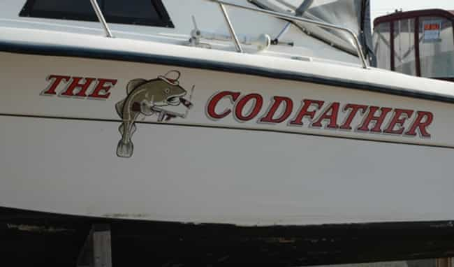 This Boat'll Make You an... is listed (or ranked) 1 on the list Funny Boat Names That'll Get a Hull of a Lot of Laughs