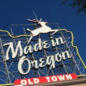 White Stag Sign is listed (or ranked) 2 on the list The Best Things from Oregon