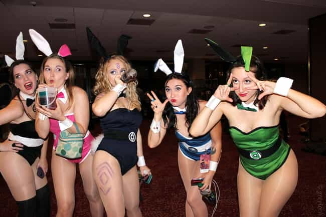 Villainous DC Bunnies is listed (or ranked) 4 on the list The Hottest DC Cosplays