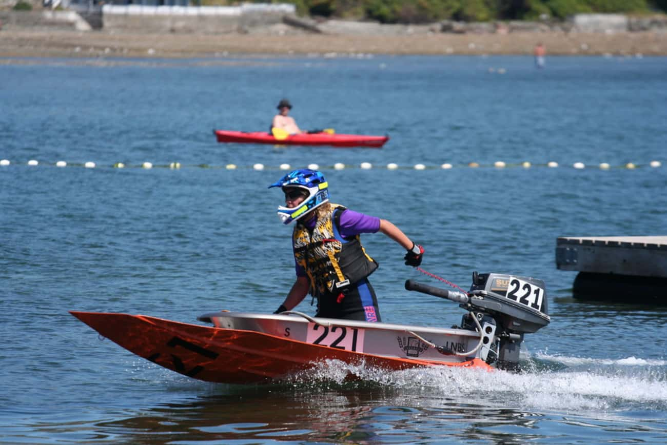 Bathtub Racing is listed (or ranked) 3 on the list The Weirdest Sports from Around the World