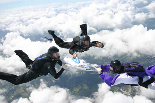 Extreme Ironing is listed (or ranked) 1 on the list The Weirdest Sports from Around the World