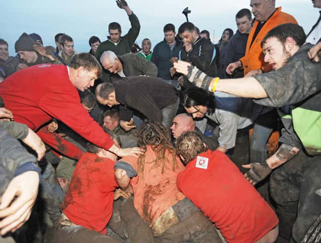 Haxey Hood is listed (or ranked) 13 on the list The Weirdest Sports from Around the World