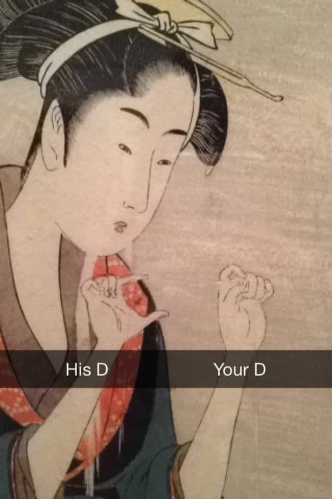 Burn is listed (or ranked) 3 on the list 39 Art History Snapchats You Need in Your Life Right Now