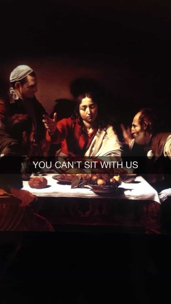 50 Art History Snapchats You Need in Your Life Right Now