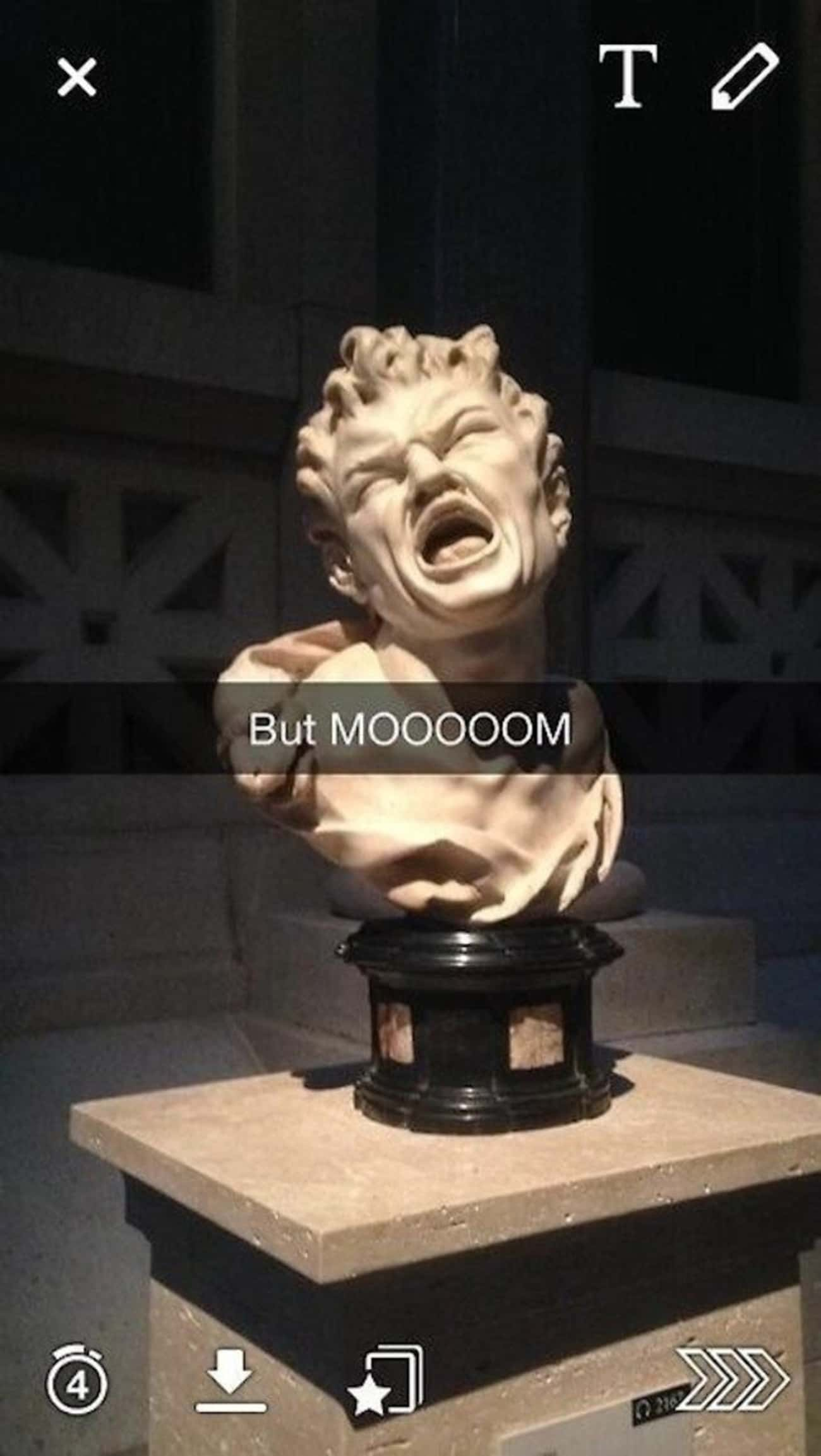 All The Other Marble Heads Are Doing It!