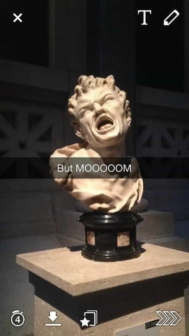 All The Other Marble Hea... is listed (or ranked) 1 on the list 39 Art History Snapchats You Need in Your Life Right Now
