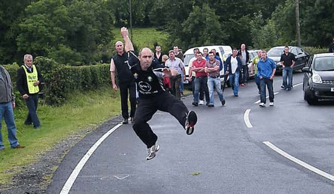 Irish Road Bowling is listed (or ranked) 18 on the list The Weirdest Sports from Around the World