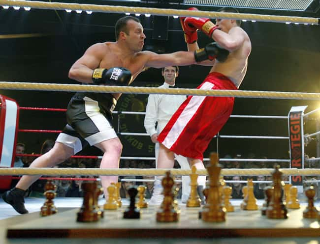 Chess Boxing is listed (or ranked) 19 on the list The Weirdest Sports from Around the World
