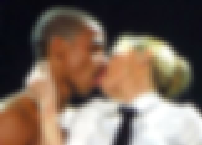 This Is The Only Reason You Kn... is listed (or ranked) 4 on the list All of Madonna's Onstage Kisses, Ranked