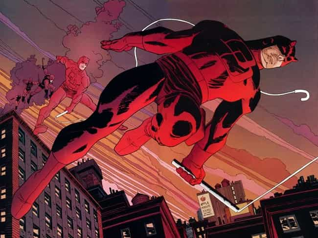 Classic Red is listed (or ranked) 1 on the list The Greatest Daredevil Costumes of All Time