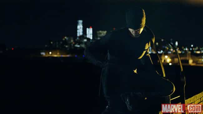 Netflix's Masked Vigilante is listed (or ranked) 3 on the list The Greatest Daredevil Costumes of All Time