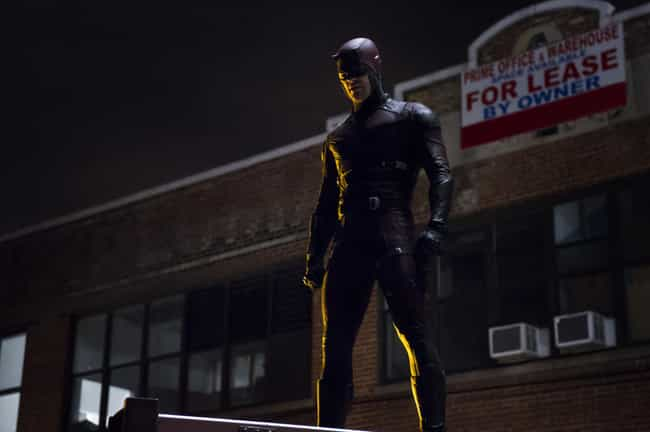 Netflix's Daredevil is listed (or ranked) 2 on the list The Greatest Daredevil Costumes of All Time