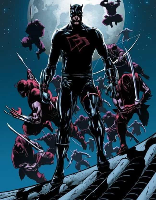 Shadowland is listed (or ranked) 4 on the list The Greatest Daredevil Costumes of All Time