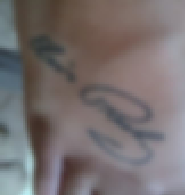 Elvis Has Left the Building...... is listed (or ranked) 4 on the list Celebrity Autograph Tattoos