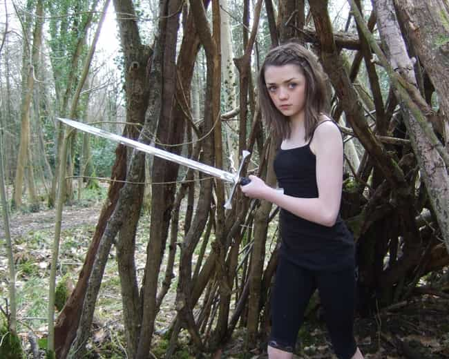 Maisie Williams Had Never Acte... is listed (or ranked) 2 on the list 26 Things You Never Knew About the Women of Game of Thrones