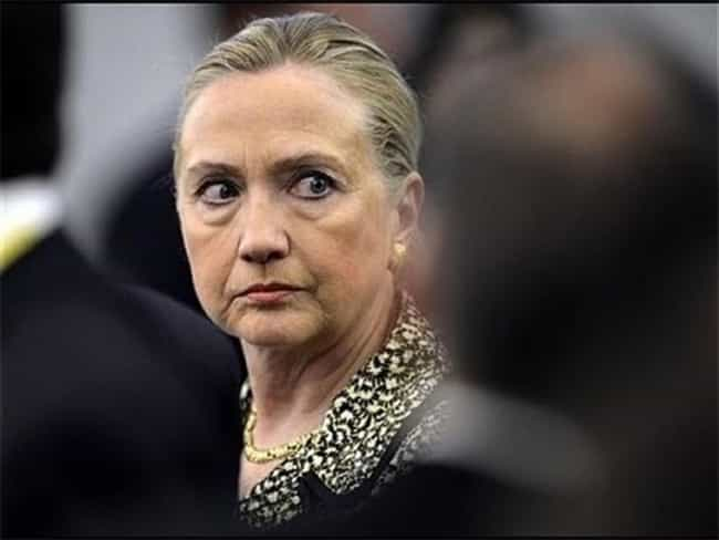 """""""Aww Hell Nah!""""... is listed (or ranked) 5 on the list The Greatest Faces Hillary Clinton Has Ever Made"""