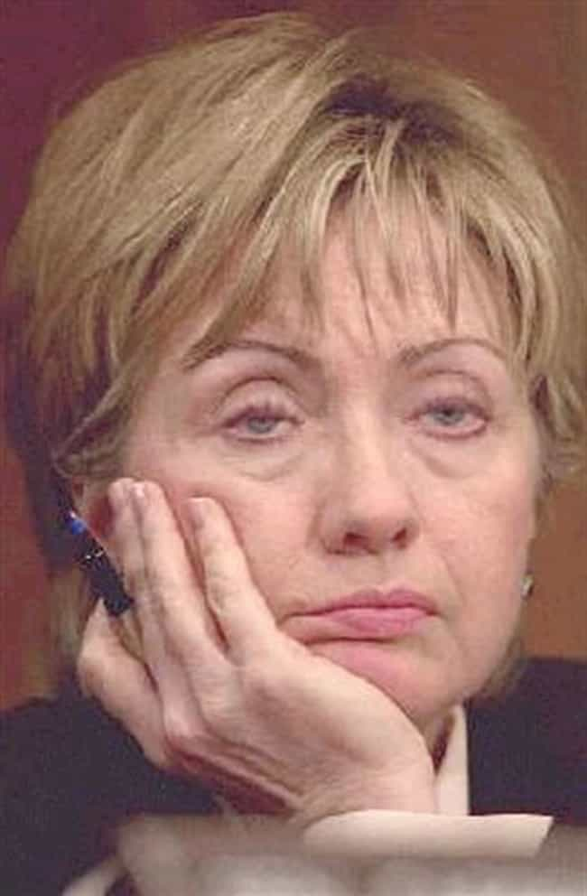 """""""Please, Tell Me Ho... is listed (or ranked) 8 on the list The Greatest Faces Hillary Clinton Has Ever Made"""