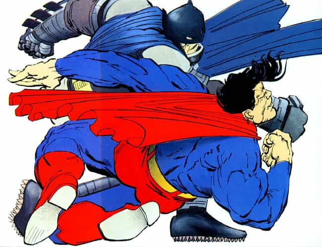 The Dark Knight Returns is listed (or ranked) 1 on the list The Most Epic Fights Between Batman And Superman