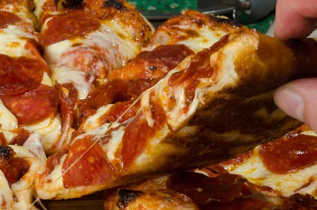 This Thick Crust Beauty ... is listed (or ranked) 2 on the list The Hottest Pizzas on the Internet