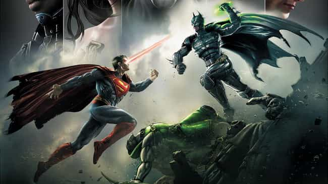 Injustice: Gods Among Us is listed (or ranked) 2 on the list The Most Epic Fights Between Batman And Superman