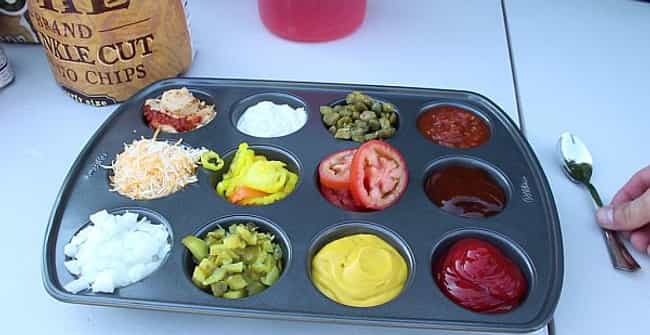 The Cupcake Condiment Containe... is listed (or ranked) 4 on the list Summer Entertaining Ideas for Your Next Outdoor Bash