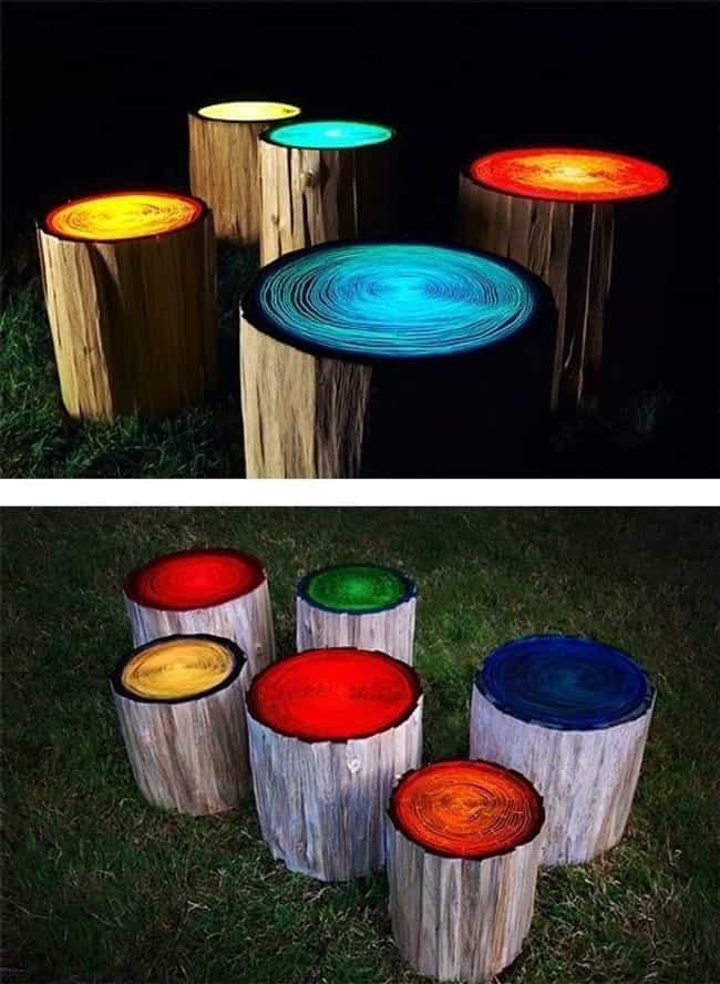 Stunning Fire Pit Stools is listed (or ranked) 1 on the list Summer Entertaining Ideas for Your Next Outdoor Bash