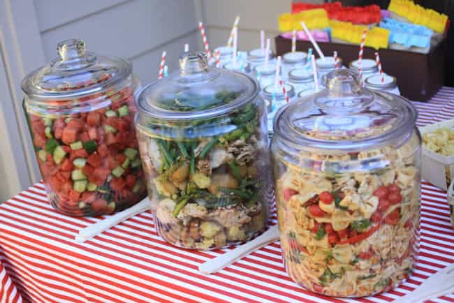 The Fly Free Salad Trick is listed (or ranked) 4 on the list Summer Entertaining Ideas for Your Next Outdoor Bash