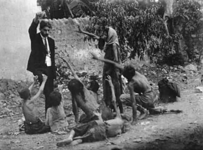 Turkish Official Teasing Starv... is listed (or ranked) 2 on the list 25 Rare, Chilling Photos of the Armenian Genocide