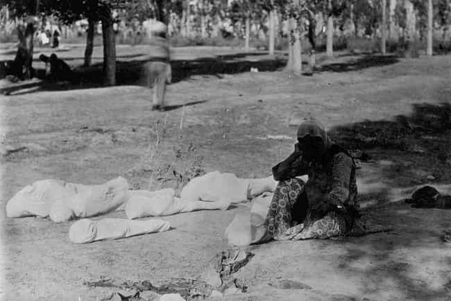 A Mother with the Corpses of H... is listed (or ranked) 3 on the list 25 Rare, Chilling Photos of the Armenian Genocide