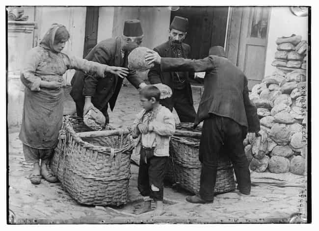 Armenian Families Receiving Fo... is listed (or ranked) 4 on the list 15 Rare, Chilling Photos of the Armenian Genocide